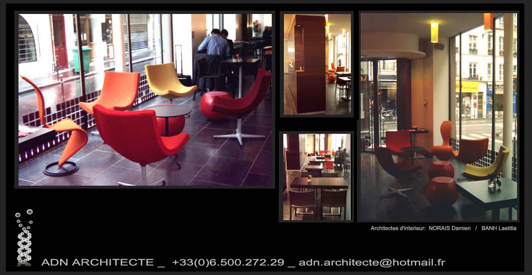 Adn architecte architecture deco b timents recevant du public - Deco lounge epure ...